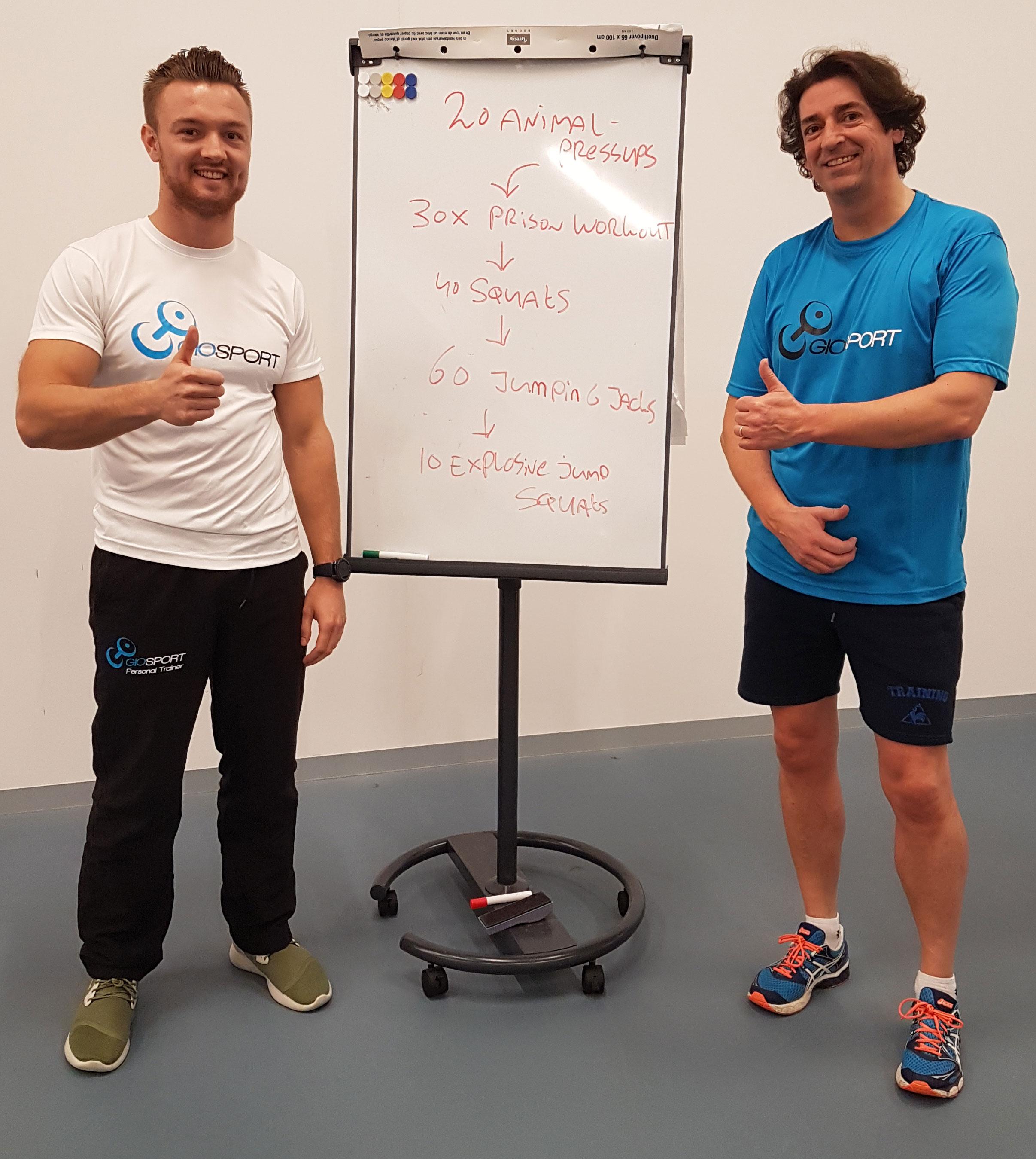 personal training bij lorenzo gio personal trainer rotterdam alexander