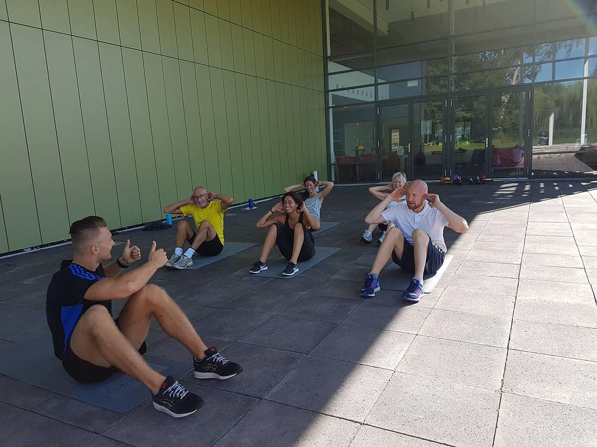 Mobiele header, lorenzo gio personal trainer Rotterdam Alexander.